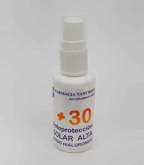 Protector Solar Alto Facial