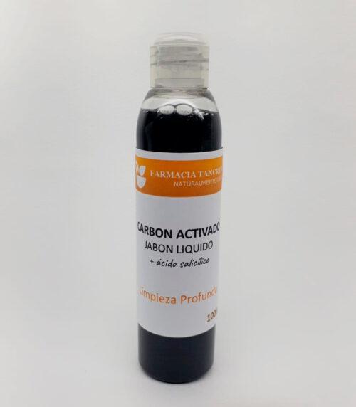 Carbón Jabón líquido