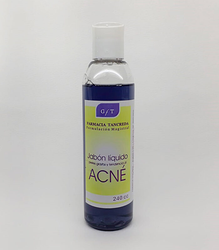 Jabón para pieles con tendencia al Acné